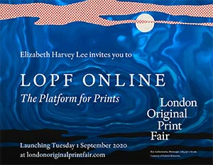 London Original Print Fair Online | Elizabeth Harvey-Lee